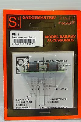 Gaugemaster Pm 1 Seep Point Motor With Built In Switch - Unopened