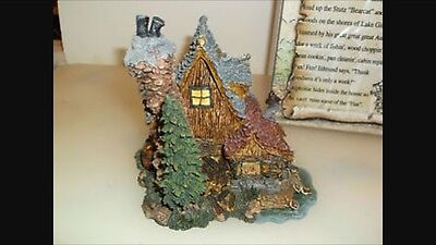 "Boyds Bearly Built Villages ""The Bears Den... Edmunds Hideaway"" - NIB- - Retired"
