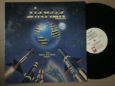 MiniLP STRYPER - THE YELOW AND BLACK ATTACK 1984 Ex/Mint-