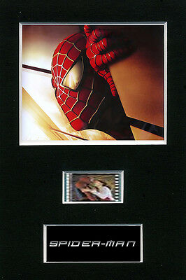 Spider Man 35mm Mounted film cells filmcell movie - Toby Maguire
