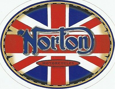 NORTON  MOTORCYCLE Sticker Decal