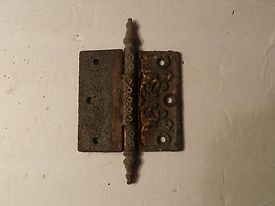 Roebling House Victorian Steeple Tip Cast Iron Hinge 1905  (4 x 4)