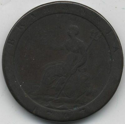 1797 George III Penny***Collectors***(4)