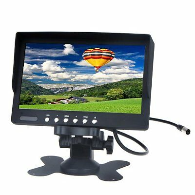 "7"" TFT LCD Car Rearview Color Monitor for VCD DVD GPS Camera DM"
