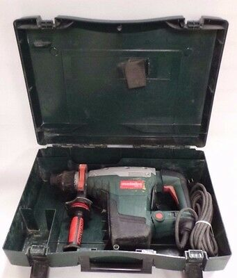 "Metabo 1-3/4"" Combination Rotary Hammer Drill - KHE 56 - W/ Hard Green Case"