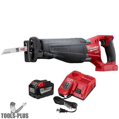 M18 FUEL SAWZALL Reciprocating Saw + 9.0Ah BATT + CHARGER Milwaukee 2720-20 New