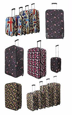 "30"" XL Suitcase Lightweight Wheeled Travel Trolley Hand Luggage Bag Case"