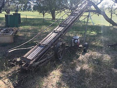Small Hay Bale Loader  or bag loader for shed