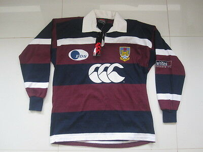 BNWT Men's Vintage Rare Swansea RFC Rugby Union Away Shirt Top Jersey S