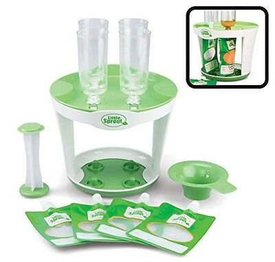 Little Sprout Baby Food Maker - Make your Own Babyfood Squeeze Pouches - Easy To