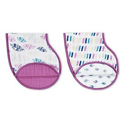 aden + anais Classic Burpy Bib 2 Count, Wink, 1 Pack