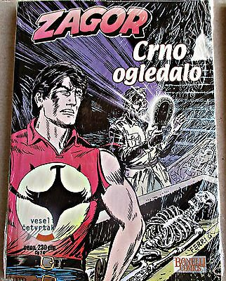 Zagor Bonelli Comic - Crno Ogledalo (Black Mirror) - New