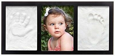 Clay Baby Handprint & Footprint Wall Mounted Picture Frame by Momentum Home |