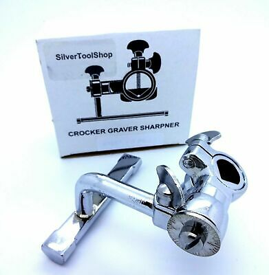 Crocker graver scorper sharpner used by jewellers for sharpening engraver for Je