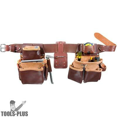 Large Tool Belt Pro Framer w/ Double Outer Bag Occidental Leather 5080DB New
