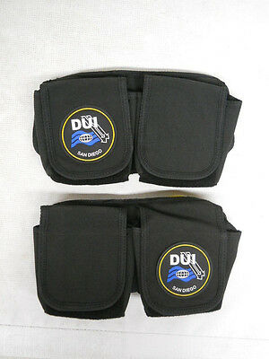 DUI Replacement Weight Pockets, Weight and Trim Harness System drysuit