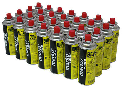 28 Butane Gas Portable Gas Stove Bottles Canister Camping Cooker Heater Bbq