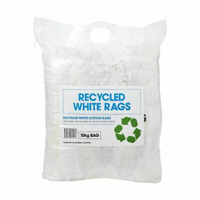Pure White Cleaning Rags 10kg