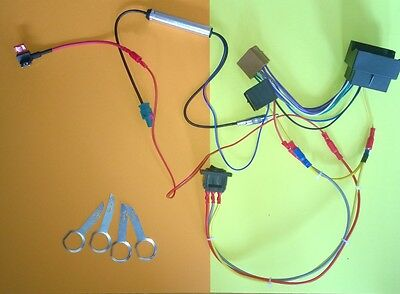 Radio Ignition Key Bypass QUADLOCK Loom - VW T5 Camper Canbus Wiring