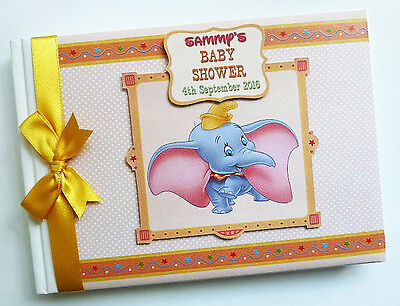 Dumbo Neutral Boy/girl /first/1St Birthday/baby Shower Guest Book Any Design