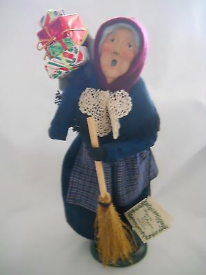 Byers' Choice Carolers OLD BEFANA Italian Christmas Witch w/Tag 1995