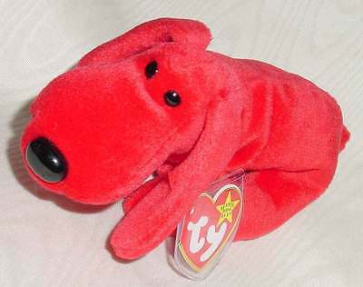 ROVER the dog ~ RETIRED ~ TY Beanie Baby / Babies ~ MWMT