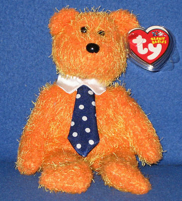 PAPPA the bear ~ RETIRED ~ TY Beanie Baby / Babies ~ MWMT