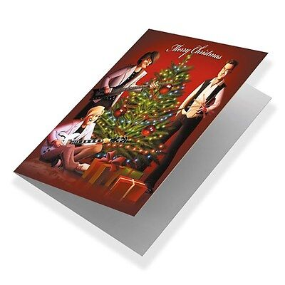 Official Rush Christmas Cards Neil Peart MN-100 Moon Geddy Lee Greeting Sold Out