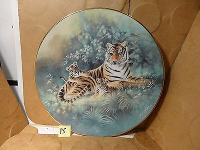 The Siberian Tiger Collector's Plate, #7593C, Knowles (Used/EUC)