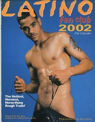 Latino Fan Club 2001, The Calendar, The Hottest, Horniest Horse Hung Rough Trade