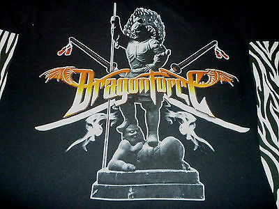 Dragonforce 2007 Tour Shirt ( Used Size S ) Nice Condition!!!
