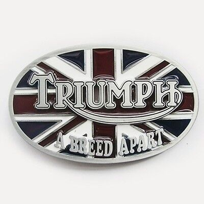 TRIUMPH MOTORCYCLE removeable Belt Buckle