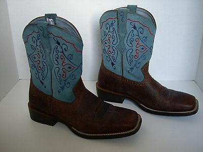Ariat Women's Cowboy Boots Fatbaby, Style 10004810 (16861), Size 9.5B, Turquoise