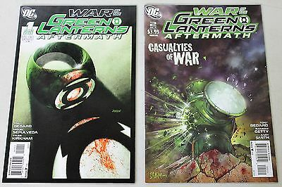 DC: War of the Green Lanterns Aftermath (2011) #1-2 COMPLETE SET