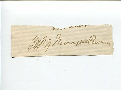 Unknown Bishop of Moray Primus Clergy Scottish Episcopal Church Signed Autograph