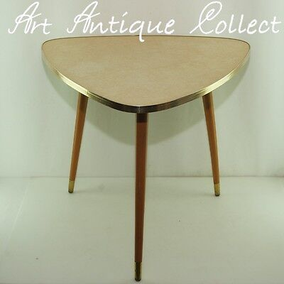 Table Kidney-shaped Side Kidney Shaped Mid Century 1950s Years Fifties Modern