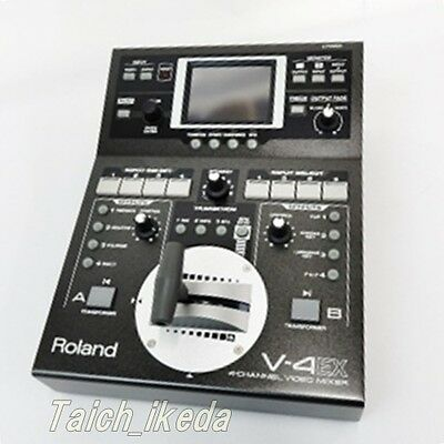Roland V-4EX Four Channel Digital Video Mixer with Effects from Japan EMS
