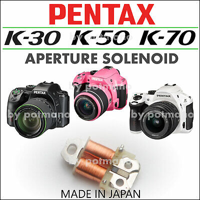 Pentax K-30 K-50 K-S1 Genuine Aperture Solenoid Plunger Part - Made in Japan -