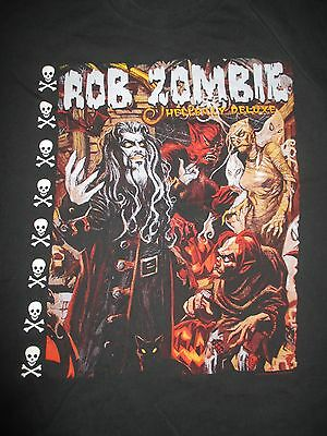 """1998 ROB ZOMBIE """"HELLBILLY DELUXE"""" Concert Tour (XL) T-Shirt"""