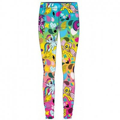 Pantaloni Leggings My Little Pony 3 - 4 - 5 - 6 -7 - 8 Anni Disponibili Leggins