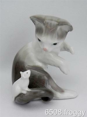 LLADRO - **CAT and MOUSE** - # 5236 - Mint Condition