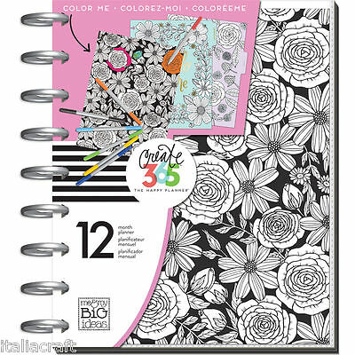 me&my BiG ideas 2017 CLASSIC Happy Planner™  COLOR YOUR WORLD  12-Months
