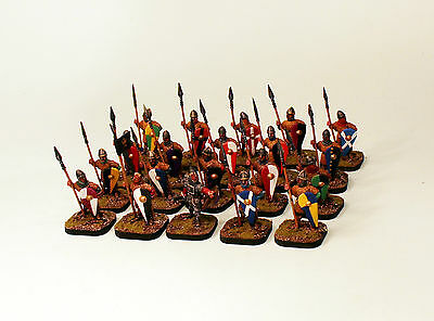 Alternative Armies-28mm Pro-Painted-Norman Infantry-20 Dark Age Soldiers-28mm
