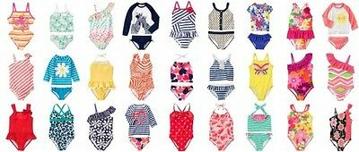 NWT Gymboree Girl Swimwear  Rash Guard 1-pc Swimsuits Tankini Kid Girl Size 4-12