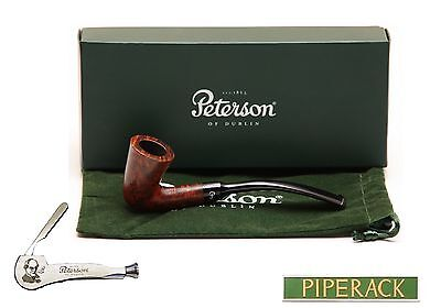 NEW Peterson Pipe Calabash Smooth Fishtail with Free Pipe Tool (Extra Small)