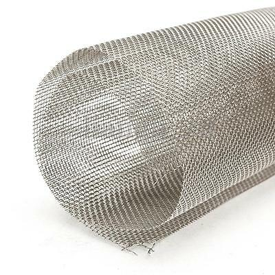 30cm Square 304 Stainless Steel 20 Mesh Water Oil Industrial Filter Woven Wire