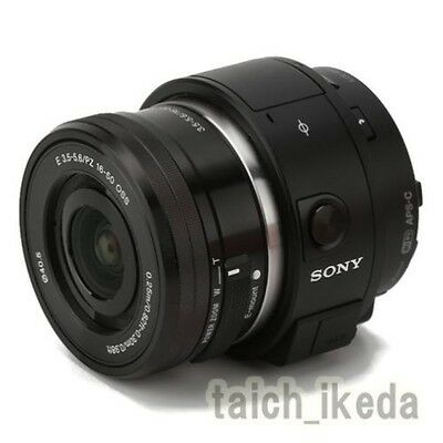 Official Sony ILCE-QX1L Mirrorless Lens-Style Digital Camera with SELP1650 Lens
