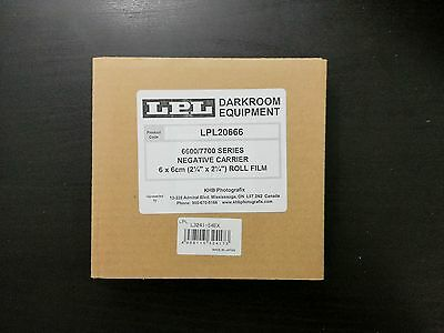 6X6 Passe vue/Negative Carrier for LPL and Saunders/LPL 6700 & 7700 NEW in box