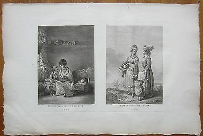 Choiseul Gouffier Greece Large Print People Tinos Folio - 1782