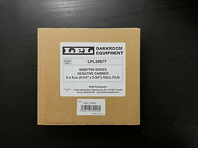 6X7 Passe vue/Negative Carrier for LPL and Saunders/LPL 6700 & 7700 NEW in box
